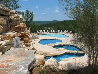 This Phase Included The Beach Club With Four Swimming Pools On Multiple Levels Water Falls Volleyball Picnic Areas And An Outdoor Amphitheater